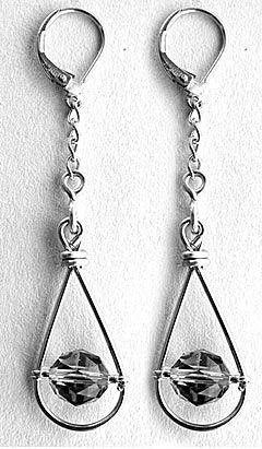 DIY Falling Raindrop Earrings - Fire Mountain Gems and Beads