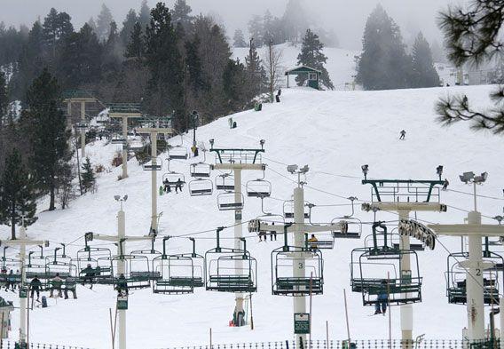 Big Bear Lake Skiing in California