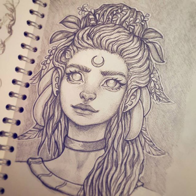 A quick drawing. Jk, this took ages :-) #drawing #sketchbook #art #instaart #artofinstagram #portrait #face #improvement #photoshop #painting #progress #pencildrawing #doodle #digitalart #illustration