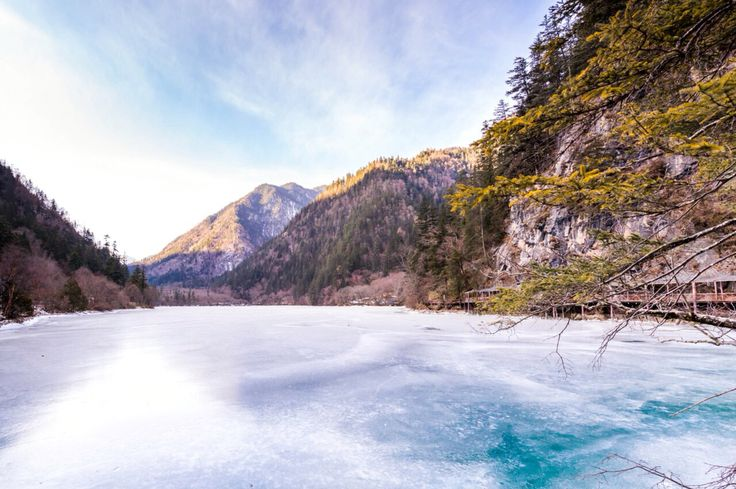 Jiuzhaigou Valley is a nature reserve and national park located in the north of Sichuan province, China.