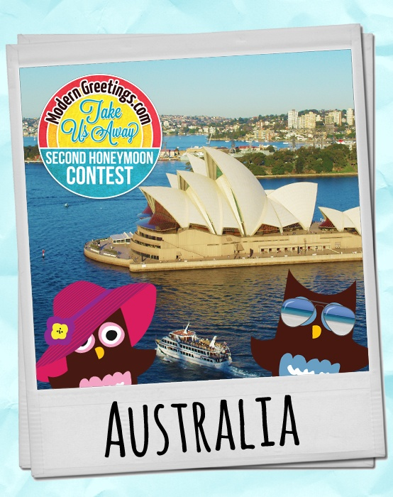 How does a second honeymoon trip to Australia sound? Pin your ideal second honeymoon and you could win it in the @moderngreeting Second Honeymoon Contest!