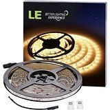 LE 16.4ft Waterproof Flexible LED Strip Lights 300 Units SMD 3528 LEDs 12V LED Light Strips 3000K Warm White... christmas deals week