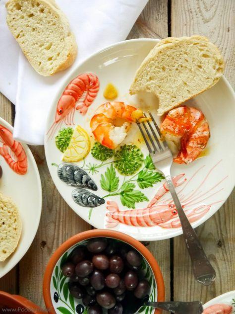 Garnelen Piri Piri, Garnelen Rezept, Urlaubsküche, Garnelen Rezept, Portugiesische  Küche,