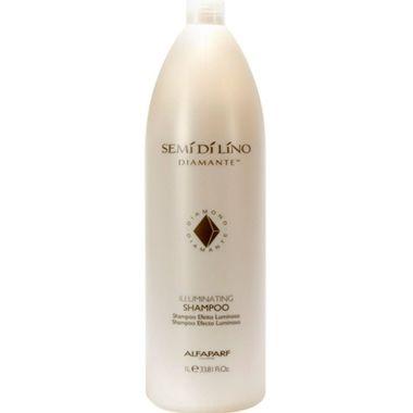 Alfaparf Semi di Lino Diamante Illuminating Shampoo Creme Iluminador ilumina os fios e dá aquele super brilho. Hidrata, amacia e protege.
