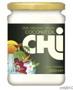 Olej Kokosowy Chi 500ml Tłoczony na zimno