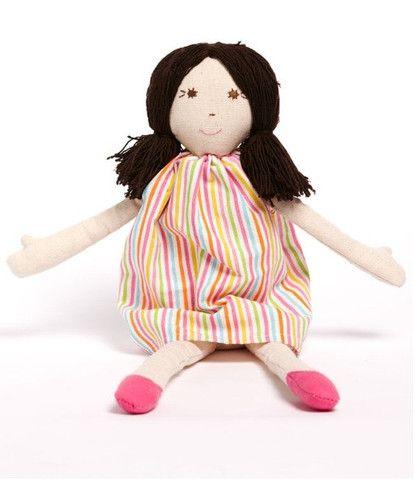 Nana Huchy Hannah rag doll – Butterfly Garden (for kids!)