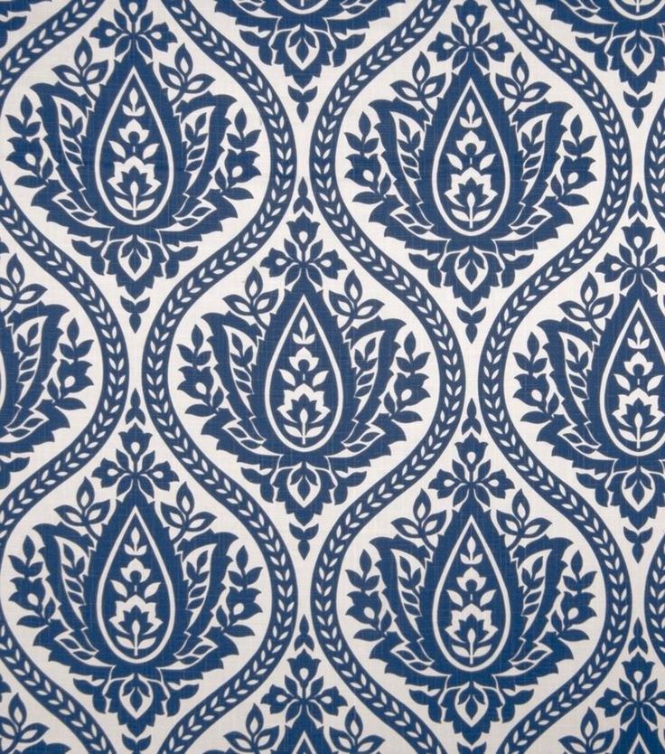 home decor print fabric eaton square farrell marine - Home Decor Fabric