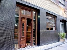 San Telmo, Melbourne.  Argentine food - the Papas al horno: Roast potatoes, peas and shallots was to die for