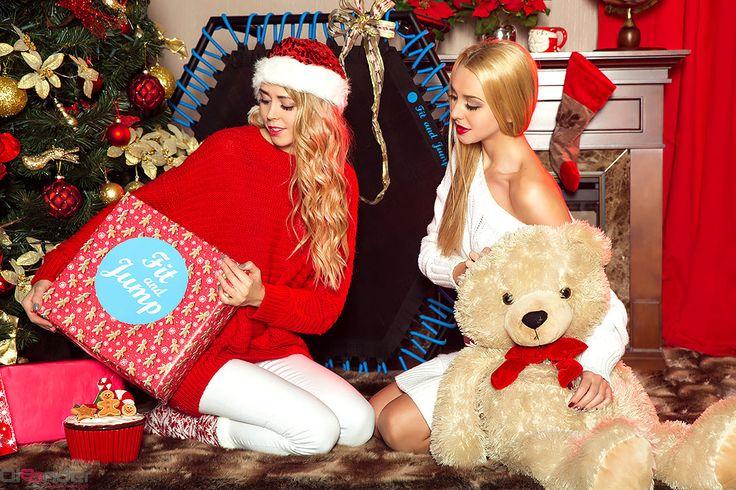 Coraz bliżej święta! Coraz bliżej święta! <3 #christmass #fitandjump #prezent #święta #siostry_adihd