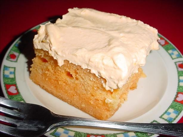 Best Orange Creamsicle Cake from Food.com:   This is by far one of the best cake recipes.  You simply must try it! 8) Very fun, refreshing, wonderful cake for summer! Enjoy!