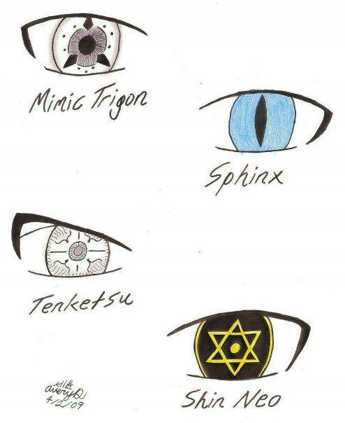 TAEGUKKI: Kekkei Genkai Eyes 2 by Tatsu000
