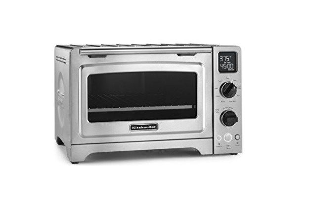 KitchenAid 12 Convection Bake Digital Stainless Steel Countertop Oven for $100 At Amazon