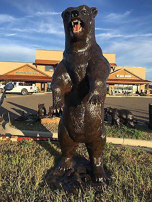 #tosimplyshop Standing 8 Ft Bear Aluminum Statue #gardendecor #decor #garden
