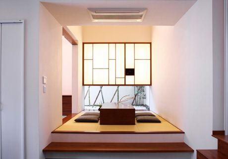 Japanese Modern: guest space