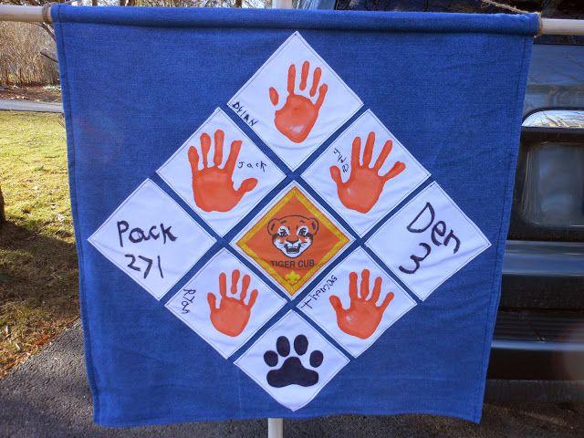 Jack's Tiger Den Flag