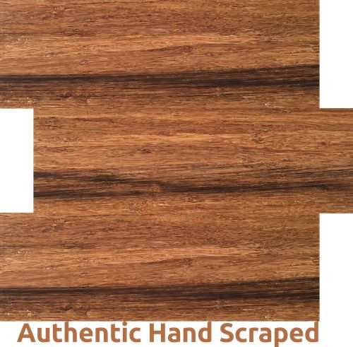 Authentic Hand Scraped - one of our ECO Bamboo Flooring   ELF