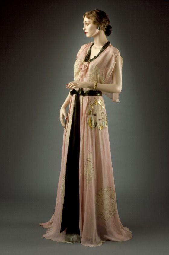 Womans Evening Dress Louise Boulanger (France, 20th century) France, Paris, circa 1930