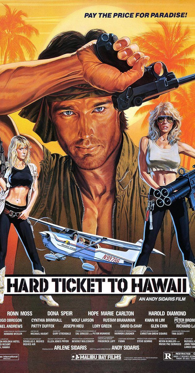 Directed by Andy Sidaris.  With Ronn Moss, Dona Speir, Hope Marie Carlton, Harold Diamond. In Molokai, two undercover drug enforcement agents are after a vicious drug kingpin, but on the way, they will also have to deal with a contaminated giant python.