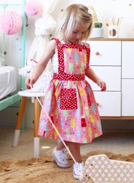 Lily Strawberry Princess Ice Cream Dress