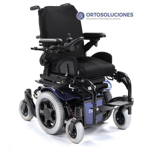 La silla de ruedas eléctrica para niños Salsa M2 Mini mide solo 52 cm de anchura total y múltiples opciones para personalizarla. Tracción central para mayor maniobrabilidad