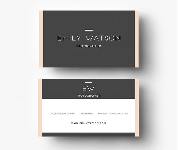 45 best duplex business cards images on pinterest brand identity three colour business card template by emilys art boutique on creative market reheart Gallery
