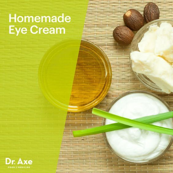 Homemade eye cream - Dr. Axe http://www.draxe.com #health #holistic #natural