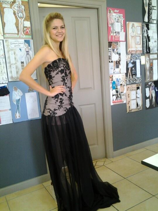 Tilsbury in my dress
