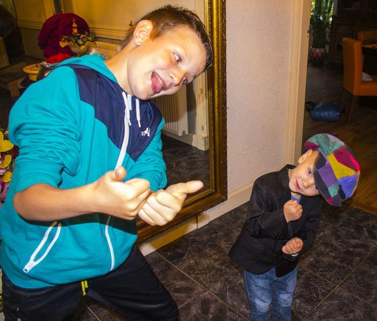 Justin en Thomas