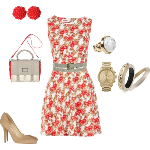 Just a Poppy of Color, created by rosemary-dewar on Polyvore outfit