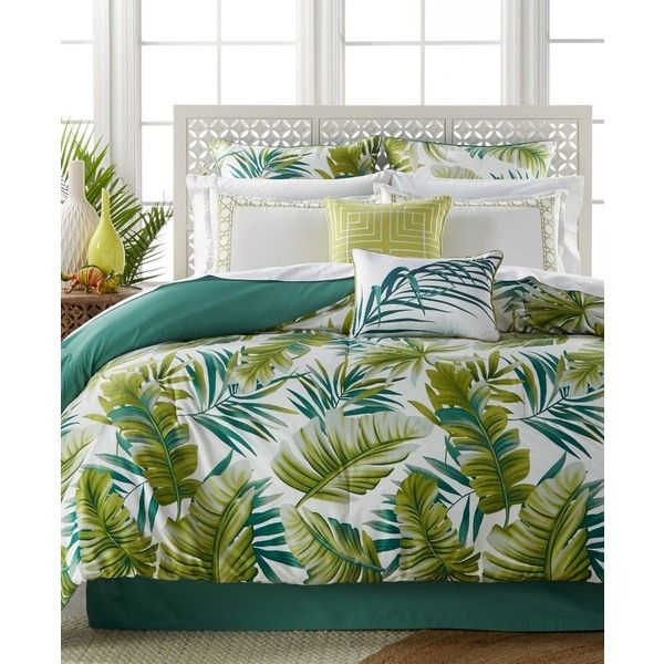 Boca Raton 8-Pc. King Comforter Set (£100) ❤ liked on Polyvore featuring home, bed & bath, bedding, comforters, 8 pc comforter set, king comforter, king comforter set, king bed linens and 8 piece king comforter set