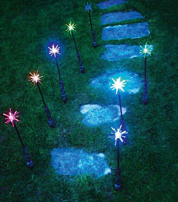 Ideas para la decoración navideña del jardín...