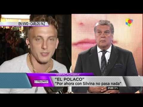 """El Polaco """"Por ahora, con Silvina no pasa nada"""""""