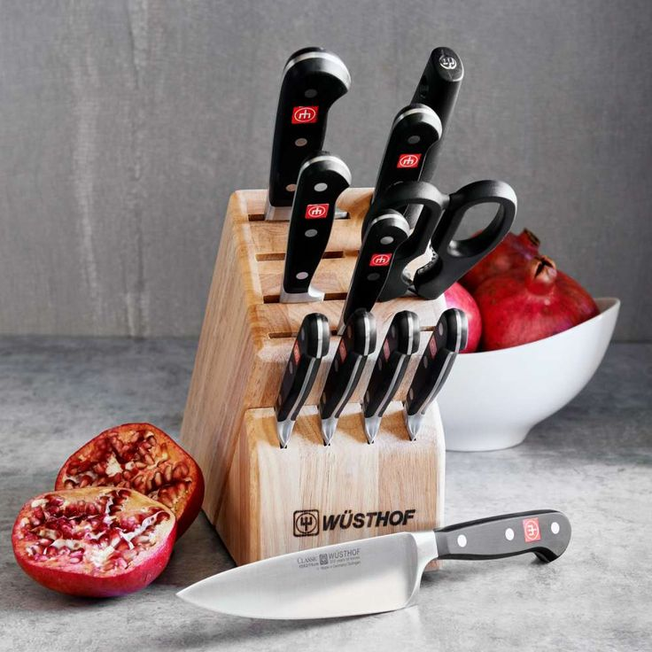 Wusthof Knife Sets, Sharpeners