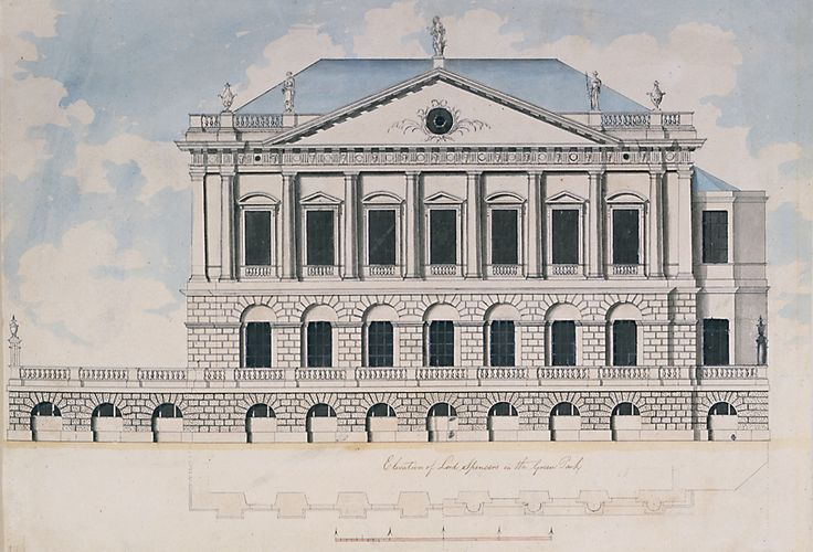 James 'Athenian' Stuart, then newly returned from Greece, superseded Vardy as Lord Spencer's architect in 1758. As a result, the House became the first example in London of the application of accurate Greek detail to interior decoration, making it one of the pioneer examples of neo-classical architecture.