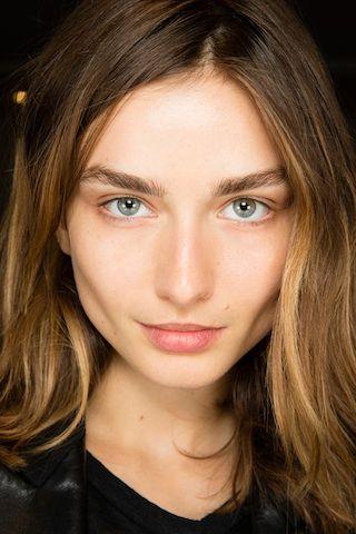 Baring It All at Balmain   Beauty Counter   Style.com