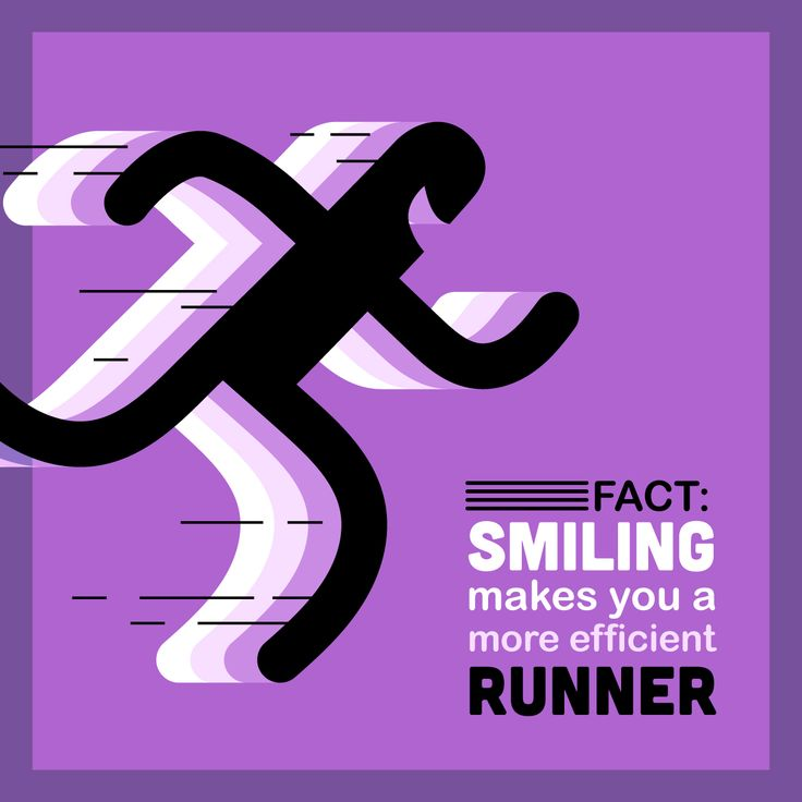 Dental Fact:  Your smile can improve the efficiency and fun of your run!