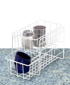 Look at this #zulilyfind! Home Collections White Sliding Organizer by Home Collections #zulilyfinds