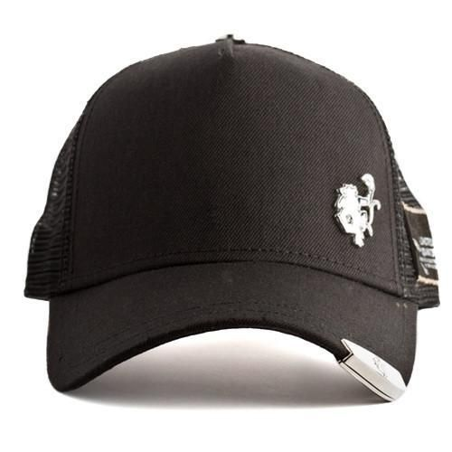 2efb49651d3 ... inexpensive red monkey silver tip v2 black trucker hat 46695 47a34 ...