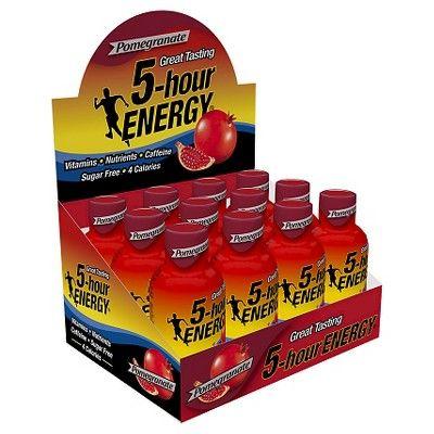 5 Hour Energy Pomegranate Energy Shot - 12 Count