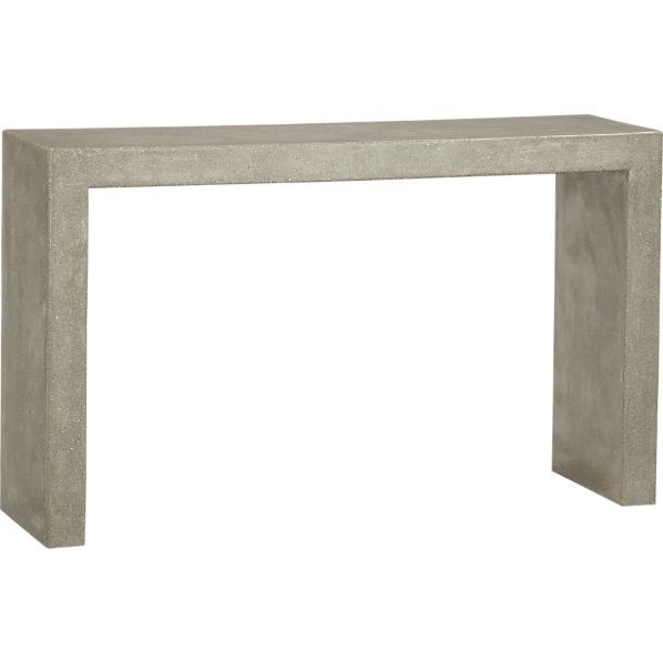 Crate and Barrel Mason Console Table
