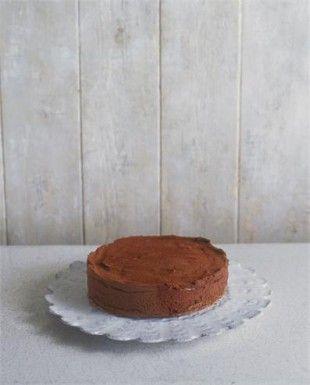 CHOCOLATE MERINGUE TRUFFLE CAKE