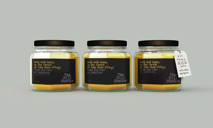 studio egregius: Design Labels, 11 14 11 Hill4 Jpg, Hill Station3, Station Packaging, Packaging Design, Design Gallery, Station Honey, Bottles, Creative Package Design
