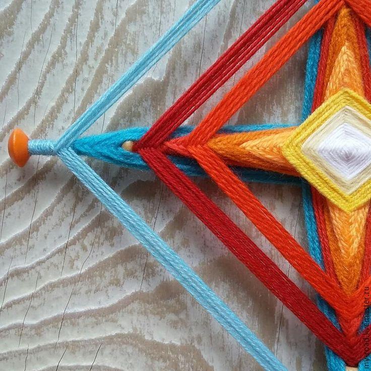 Купить мандала...полярная звезда... - комбинированный, мандала, мандалы, мандала купить, мандала из ниток