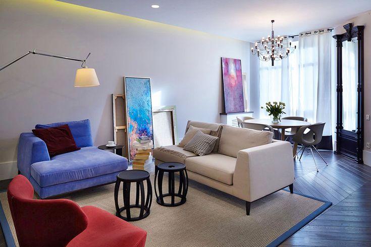 Apartment Saksaganskoho by Rina Lovko