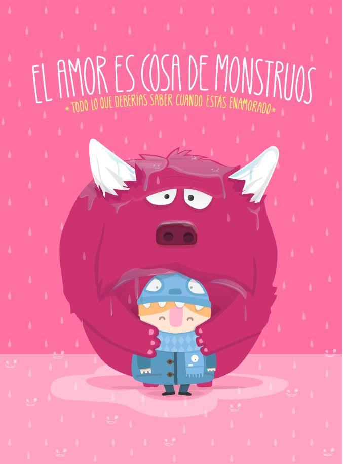 """""""El amor es cosa de mosntruos"""". Editorial Lunwerg"""