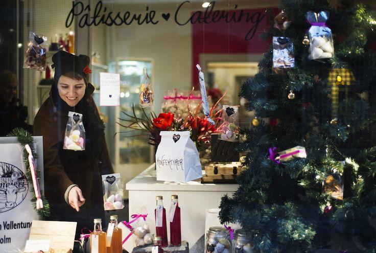 Christmas shopping in Sweden