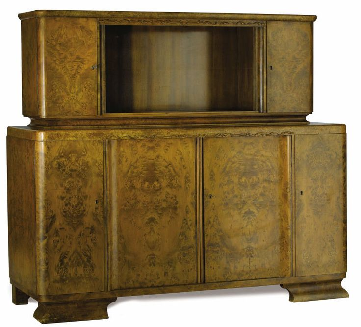 An Austrian Art Deco Buffet Cabinet Unknown Maker Austria Circa 1930 1940