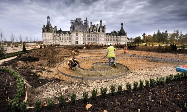 The chateau of Chambord, the biggest in France's Loire Valley, will see its French formal garden restored thanks to a 3.5 million euro ($3.6 million) donatio...