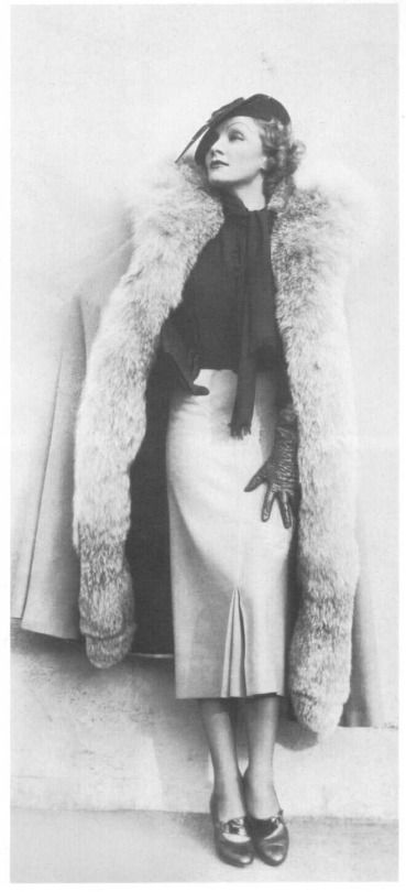 fashion icon marlene dietrich