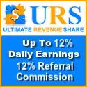 Ultimate Revshare Another good program For the year 2016 Get 10% per day with 50% re purchase rule Min 1$ adpack expires on 110% 2 levels earning commissions 10% and 2% https://www.ultimaterevshare.com/?r=shellywell16   Payplan super strong and sustainable for very long term Earn 12% per day  Ad packs cost from 1$ to 40$ Ad packs Mature at 120% 150% Payza,,STP,PM, Payeer, BTC,OkPay,  Min. $5 Max $120 Cashout Daily No need to view ads to receive adpacks earnings